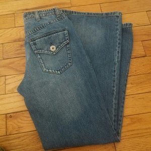 Tommy Hilfiger hipster boot cut denim jeans size 4